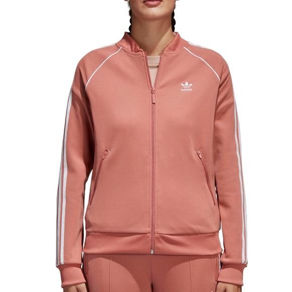 26f83a0f7 Adidas Originals Track Jacket Size Medium Ash Pink